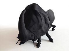 maximo riera produces 3D printed animal chair miniatures - designboom | architecture & design magazine
