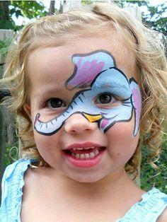 Cutie Patootie Elephant Face Painting.