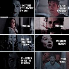 Teen wolf Teen Wolf Funny, Teen Wolf Memes, Teen Wolf Poster, Sterek, Ballerinas, Sad Quotes, Awesome Stuff, Babys, Anxiety