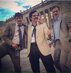 "@cinema.magic: ""The cast of Narcos  ""Plata o Plomo"""""