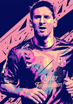 Lionel Messi: FOOTBALL ILLUSTRATIONS on Behance