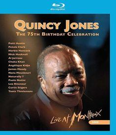DERNIER EXEMPLAIRE !!! Quincy Jones / 75th Birthday - NEUF - BLU-RAY