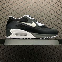27b1b15e8680 Nike Air Max 90 Essential Black White 537384-089 For Sale