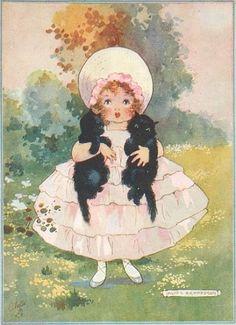 Vintage postcard (Illustration by Agnes Richardson)