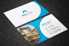 Real estate business cards rsd bc 110 real estate business cards real estate business card estaterealbusinesstemplates blank business cards wajeb Image collections