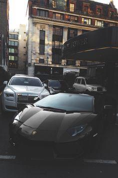 Lamborghini and RR