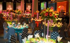 Event Decorating Ideas ~ Banquet Décor ~ Decoration Event Hall