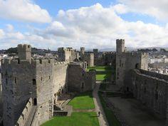 Caernarfon Castle, Wales.