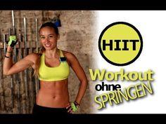 Abnehmen mit Training Zuhause - Workout für Anfänger und Fortgeschrittene - HIIT ohne Springen - YouTube