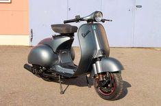 La Vespa — scoothub: scooter pic of the day: metallic...