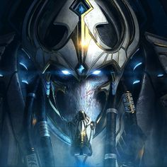 """""""Starcraft ll: Legacy Of The Void is out! I had the opportunity to model and sculpt Artanis that was used for the box art. Art direction by the one and…"""" ~  Dominic Qwek"""