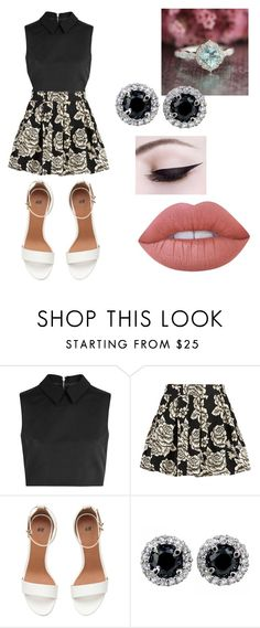 """""""outfit"""" by taylor-ross115 on Polyvore featuring McQ by Alexander McQueen, Zibi London and Lime Crime"""