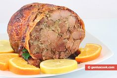 The Recipe for Stuffed Duck | Meat Dishes | Genius cook - Healthy Nutrition, Tasty Food, Simple Recipes