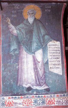 manuel-panselinos-from-the-holy-church-of-the-protaton (160)   Sfântul Munte Athos Orthodox Icons, Byzantine, Fresco, Holi, Saints, Projects To Try, Painting, Murals, Illuminated Manuscript