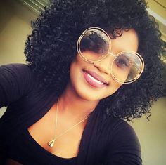 FLOSSIN in her FINGERCOMBER SALONVELOPE FEMY CURL UNIT! #FINGERCOMBER