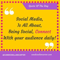 How Social Are You being On Social MEdia? are you connecting with your audience daily? sending a message? #social