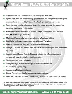 Recruiting Resume There Are 1560 Colleges With Volleyball Programs That You Can Have .