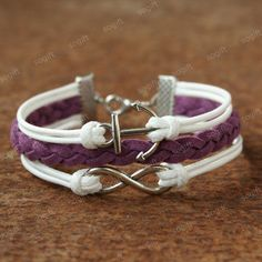 by (sogift) Infinity bracelet with anchor -bracelet for your GF.Christmas for friends, Sogift, Bracelet, Charm+bracelet, Jewelry, Bracelet, Infinity, Infinity+bracelet, Girlfriend+gift, Christmas, Anniversary+gifts, Girls+bracelet, Christmas+gift, Girlfriend+bracelets, Lilac, Anchor+bracelet, Coffee,