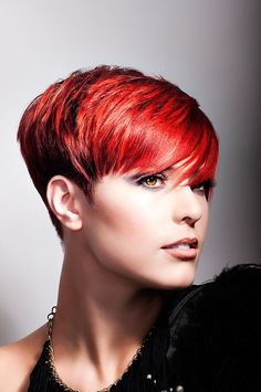 Short Red Homecoming Hairstyle - Homecoming Hairstyles 2014
