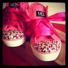 Blingy Ugg Shoes