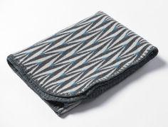 Knitted merino wool blanket for children.  Retro by LinaJohansson, kr460.00