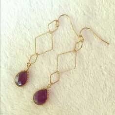 HOST PICK NWT delicate chained earrings NWT dainty and delicate earrings Jewelry Earrings