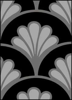 Art Deco stencils from The Stencil Library. Buy from our range of Art Deco stencils online. Page 3 of our Art Deco repeatpattern stencil catalogue. Motif Art Deco, Art Deco Pattern, Stencil Patterns, Stencil Art, Stencil Designs, Art Deco Design, Pattern Design, Stenciling, Art Deco Illustration