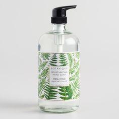 Large Botanique Fresh Citrus Moisturizing Liquid Hand Soap by World Market Cosmetic Labels, Cosmetic Packaging, Soap Labels, Soap Packaging, Packaging Design Inspiration, Design Packaging, Liquid Hand Soap, Bottle Design, Moisturizer