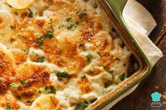 Simple Au Gratin Potatoes: the French Recipe - Easy French Recipes - French Recipes Potatoes Au Gratin, Cheesy Potatoes, Gratin Dauphinois Recipe, Potato Recipe For Kids, Prime Rib Dinner, Easy French Recipes, Simple Recipes, Bacon Cheeseburger Casserole, Funeral Potatoes