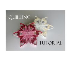 Quilling pattern / tutorial / how to Christmas von evascreation