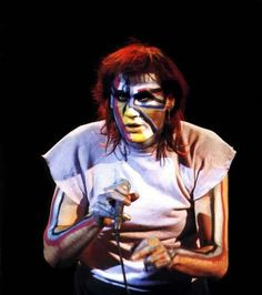 Fish - frontman for Marillion during early years with a modestly successful solo artist, thereafter. Clearly a fan of Genesis era Peter Gabriel. Z Music, Music Like, Rock Music, Peter Gabriel, Heavy Rock, Music And Movement, Tour Posters, Progressive Rock, Music Lessons