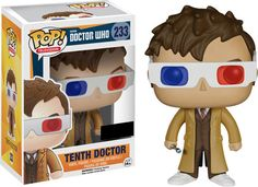 Doctor Who 10th Doctor 3D Glasses Pop Vinyl Figure $13.27