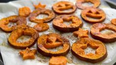 Haunted Sweet Potato Fries