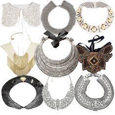 decorative detachable collars... want, need, DIY?