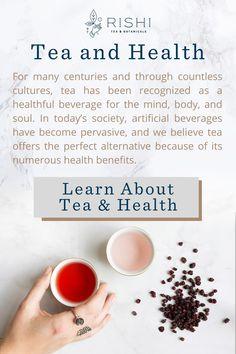 Tea has been recognized as a healthful beverage with numerous health benefits through many cultures. Healthy Drinks, Healthy Tips, Detox Drinks, Rishi Tea, Brenda, Tea Blends, Alternative Health, Tea Recipes, Herbal Medicine