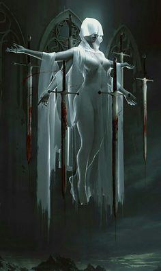 Vampire Art by Ian Elanas Dark Fantasy Art, Fantasy Kunst, Fantasy Artwork, Dark Art, Fantasy Queen, Fantasy Sword, Fantasy Inspiration, Character Inspiration, Character Art