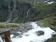 Troll waterfall top