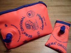 Taschen aus Schwimmflügeln