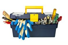 Wondering what to put in your toolbox? Great beginners guide to a well stocked toolbox! -- via TLC.com