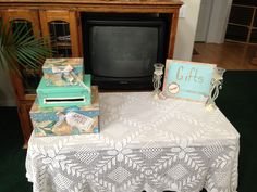 Card box / gift table created by Sam :)