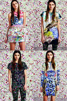 Topshop x Mary Katrantzou #fashion #print