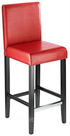 Diego Fixed Bar Stool - Red  sc 1 st  Pinterest & Haley Red Acrylic Perspex Kitchen Breakfast Bar Stool Height ... islam-shia.org