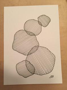 Zendoodle / zentangle cirkler
