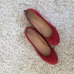 J Crew ballet flats Worn but still excellent condition J. Crew Shoes Flats & Loafers