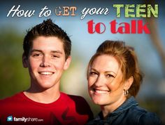 FamilyShare.com l #Communication or interrogation? How to get your #teen to talk