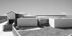 2RII HOUSE – Render, house entrance detail - #noarq #house #render #whitedesign by José Carlos Nunes de Oliveira - © NOARQ
