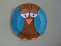 Easy craft for kids, Easy Thanksgiving craft, preschool Thanksgiving craft. Owl craft for kids, fall craft for kids.