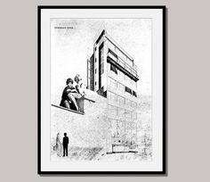 LITERATURE HOUSE art poster print wall decor wall by interiorart