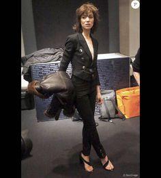 Charlotte Gainsbourg à la rétrospective intitulée Jane and Charlotte Forever qui se déroule jusqu'au dimanche 7 février à la Film Society of Lincoln Center de New York.