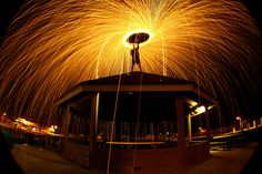 Steel Wool Photography=Super Cool!!  Reminds me of photos of sparklers during the 4th of July!